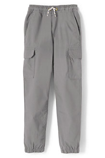 Boys' Iron Knees Woven Cargo Joggers