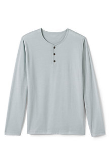 Men's Jersey Henley Top