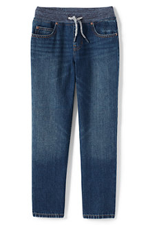 Boys' Iron Knee Pull-on Jeans