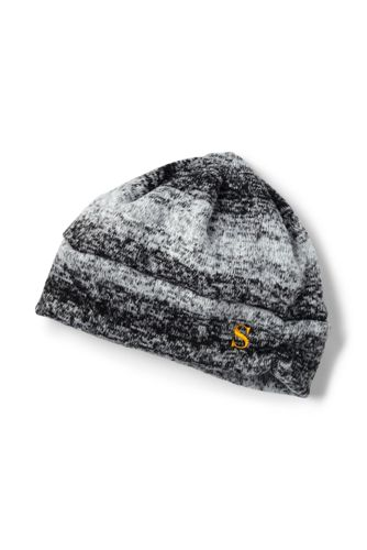 Women's 100 Fleece Ruched Fair Isle Hat from Lands' End