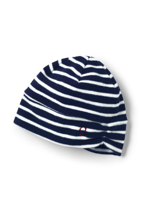 Women's 100 Fleece Ruched Pattern Hat