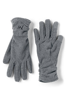 Women's Fleece Ruched EZ Touch Gloves