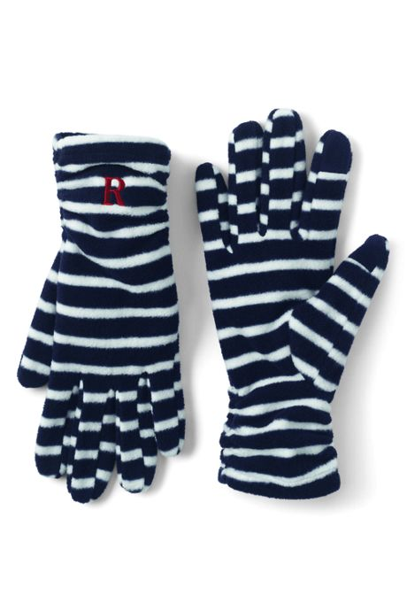 Women's 100 Fleece Ruched Pattern EZ Touch Gloves