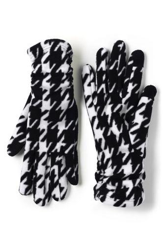 Women's Ruched Fleece Touchscreen Gloves