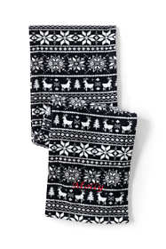 Women's Fleece Winter Scarf - Print