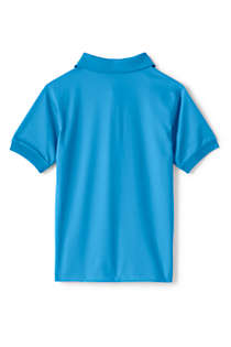 Kids Short Sleeve Rapid Dry Polo Shirt, Back