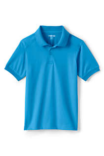 School Uniform  Kids Short Sleeve Rapid Dry Polo Shirt, Front