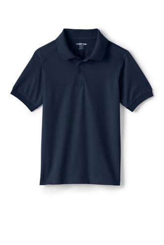 c9bb4c1d25c School Uniform Unisex Rapid Dry Active Polo from Lands' End