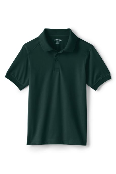 School Uniform Little Kids Short Sleeve Rapid Dry Polo Shirt