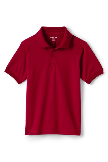Kids Short Sleeve Rapid Dry Polo Shirt