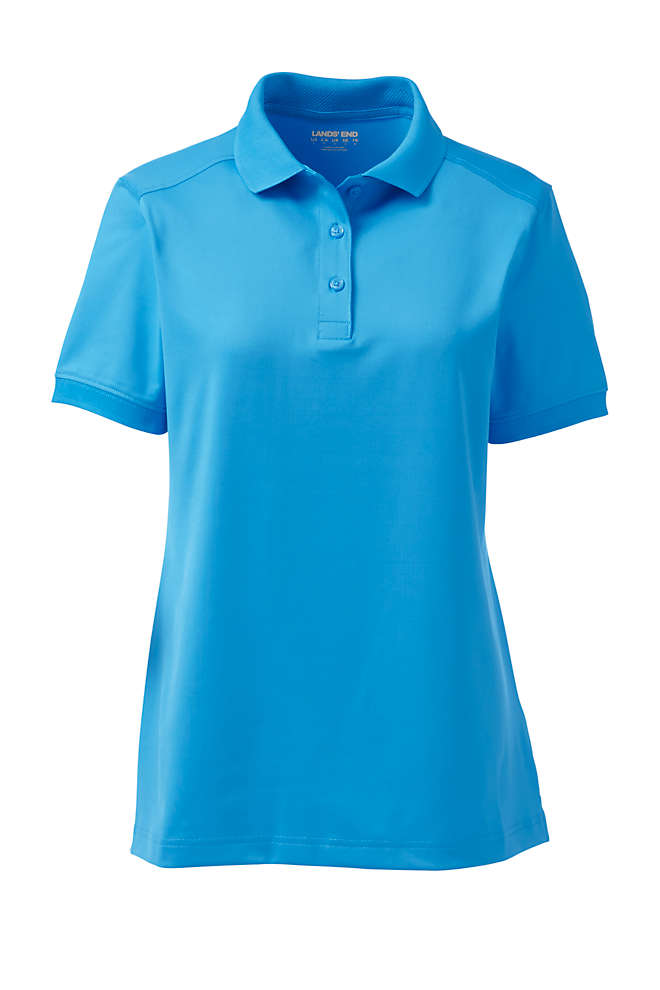 Women's Short Sleeve Rapid Dry Polo Shirt, Front