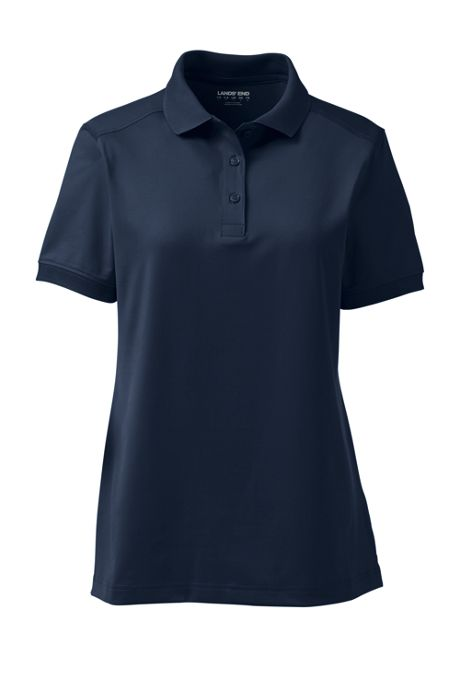 School Uniform Women's Short Sleeve Rapid Dry Polo Shirt