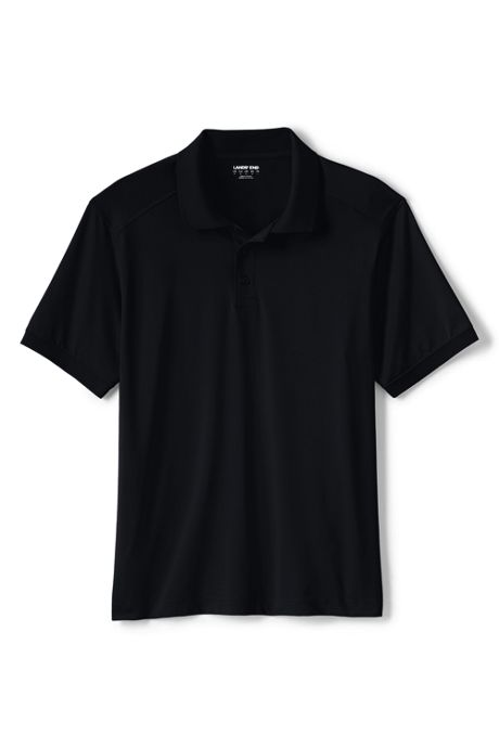 School Uniform Men's Short Sleeve Rapid Dry Polo Shirt