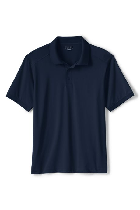 School Uniform Men's Rapid Dry Active Polo