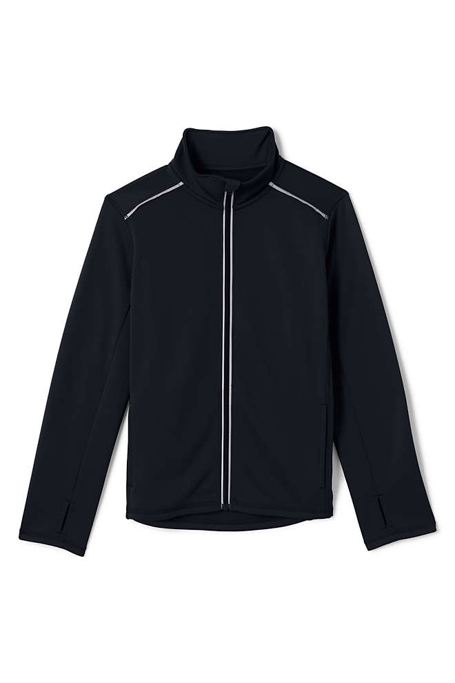 School Uniform Boys Active Track Jacket, Front