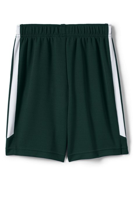 School Uniform Little Boys Mesh Athletic Gym Shorts