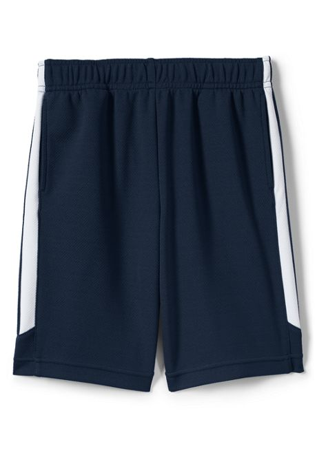 School Uniform Boys Mesh Athletic Gym Shorts