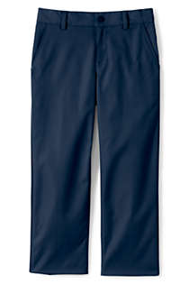 Lands End Boys Slim Iron Knee Chino Cadet Pants