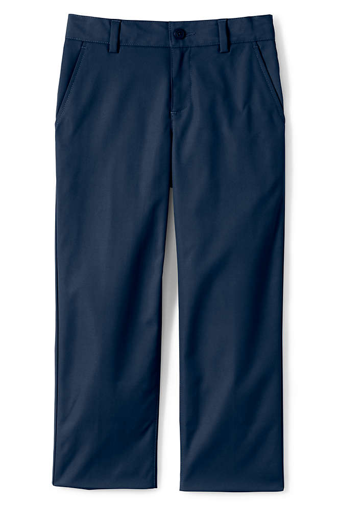 School Uniform Boys Iron Knee Active Chino Pants, Front