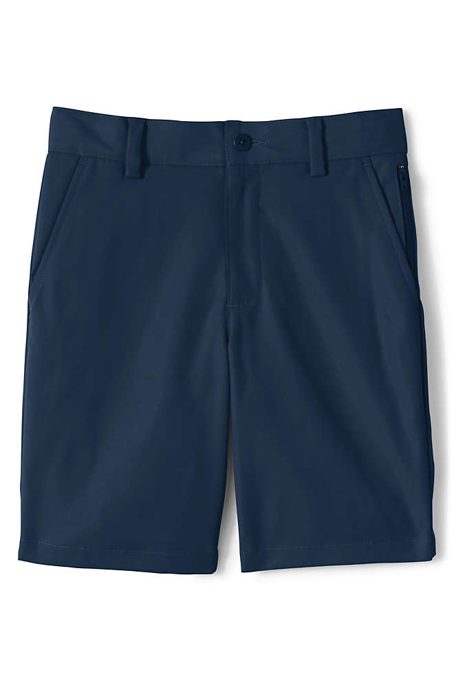 School Uniform Boys Active Chino Shorts, Front
