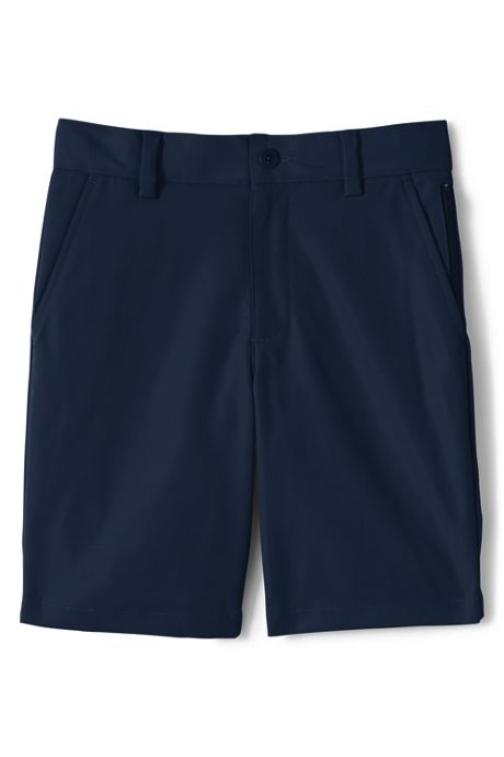 School Uniform Little Boys Active Chino Shorts
