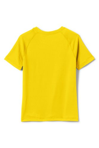 Boys Short Sleeve Active Gym T-shirt