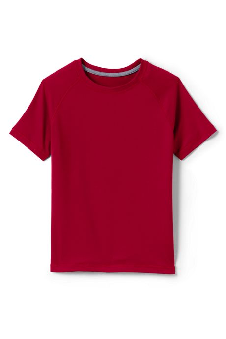 School Uniform Boys Short Sleeve Active Tee