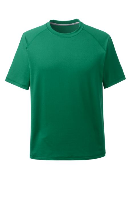 School Uniform Men's Short Sleeve Active Gym T-shirt