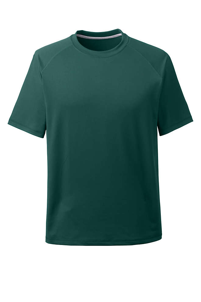 School Uniform Men's Short Sleeve Active Gym T-shirt, Front