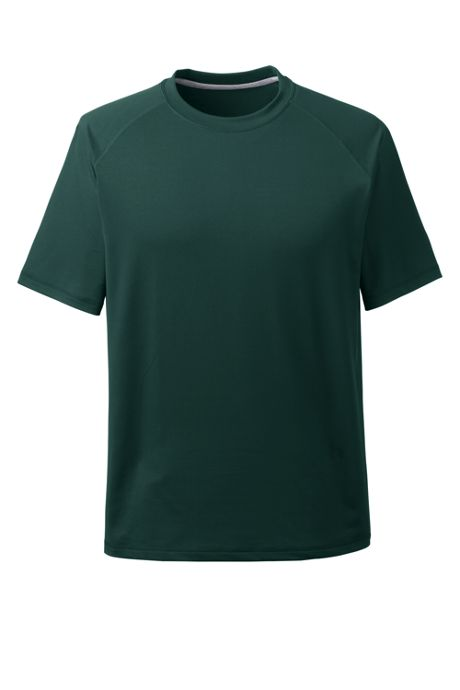 School Uniform Men's Short Sleeve Active Tee