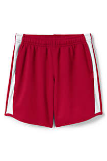School Uniform Girls Mesh Athletic Gym Shorts, Front