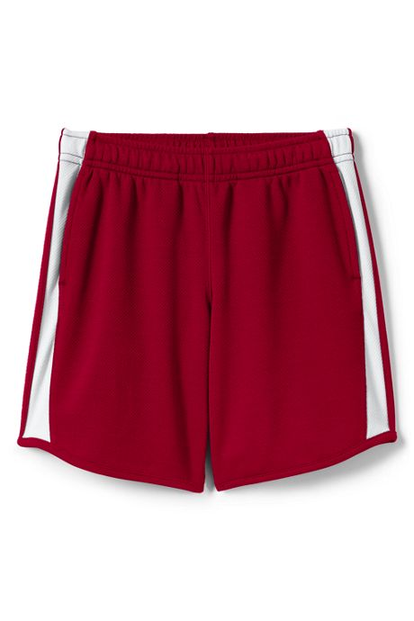 School Uniform Little Girls Mesh Athletic Gym Shorts