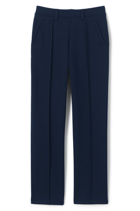 School Uniform Girls Ponte Pants