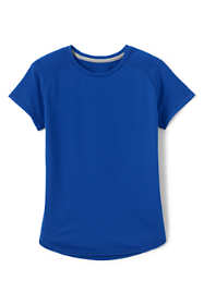 School Uniform Little Girls Short Sleeve Active Tee