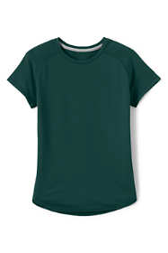 School Uniform Girls Short Sleeve Active Gym T-shirt