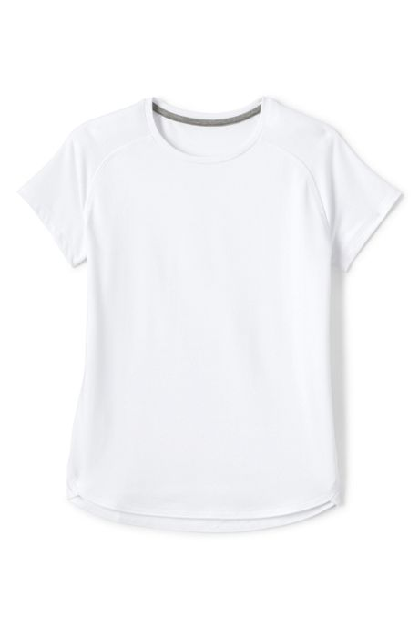 School Uniform Girls Short Sleeve Active Tee