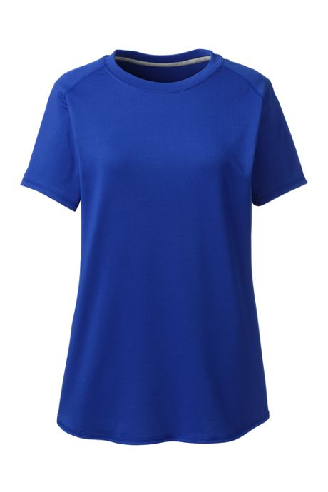 School Uniform Women's Short Sleeve Active Gym T-shirt