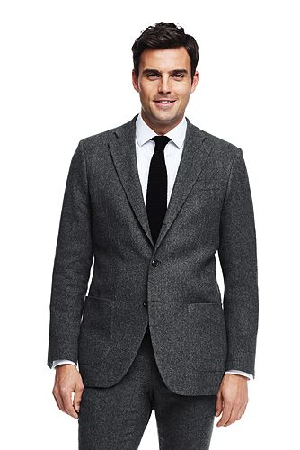 Herringbone Wool Sportcoat 486542