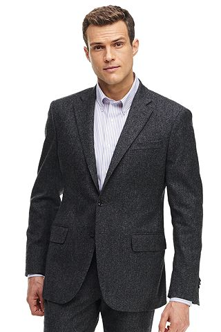 Stretch Tweed Sportcoat 486545: Charcoal