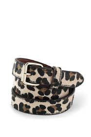 Girls Animal Print Belt