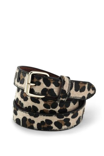 Girls' Animal Print Belt