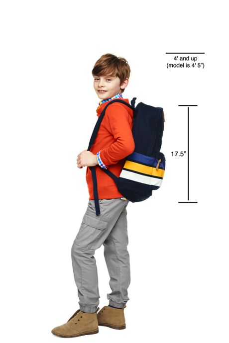 Kids Campus Zip Top Backpack