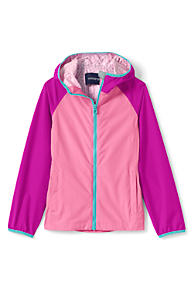 Girls Pink Jackets, Parkas & Coats from Lands' End