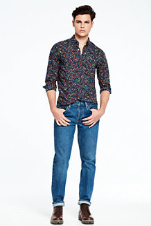 5-Pocket-Denim-Jeans für Herren, Slim Fit