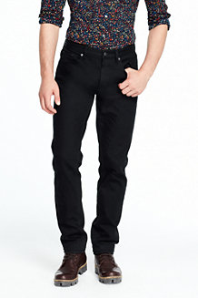 Men's Black Slim Fit Jeans