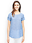 Women's Stripe Linen Summer Top