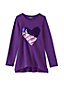 Girls' Embellished Sweatshirt Legging Top