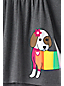 Toddler Girls' Graphic Trapeze Legging Top