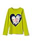 Le T-Shirt Graphique à Manches Longues, Toute Petite Fille