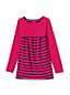 Little Girls' Colourblock/Stripe Trapeze Legging Top